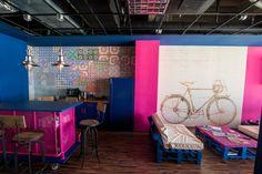 The CraftsmanWorkshop - desire to inspire - desiretoinspire.net - alexandru calin, vlad draghescu, POINT ZERO Office Interior Design, Design Offices, House Colors, Craftsman, Workspaces, Coffee Shop, Color Blocking, Zero, Workshop
