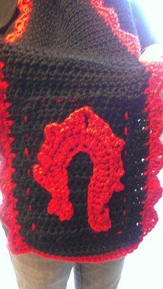World of warcraft horde scarf