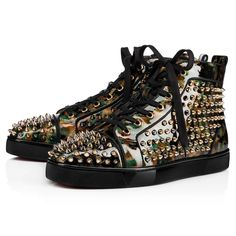 45daab87a6 Louis Orlato Men s Flat Multi Multi Metal Patent Voie Lactee - Men Shoes -  Christian Louboutin