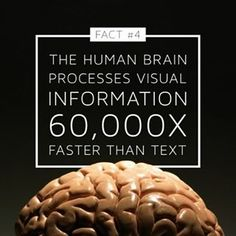 Watch Innovation Happen - Saray Media  #brain #visuals #visualcontent #text #more #effective #fact #socialmedia #digital #infographic #information #process #target #audience #effective #true #yes #power #knowledge #video #marketing