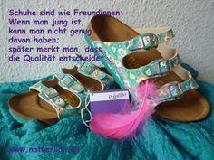 Freundschaft, Schuhe, Birkenstock, Papillio