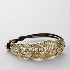 Feather bracelet from Fossil, trying to decide if I need this for $38.