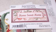 """Design Works HOME SWEET HOME Hard to Find 7"""" x 18"""" Leaves & Fruit"""