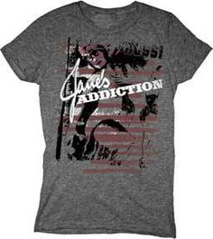 Chicago Rock Band FLAG LOGO Juniors Cap Sleeve T-Shirt