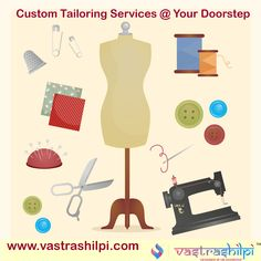 Now Easily Get Custom Online Tailoring Services in India at Vastrashilpi Only