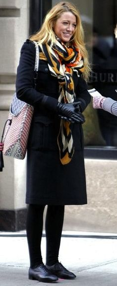 Shoes: Repeto Zizi  Bag: Jimmy Choo  Laptop Case: Marc Jacobs  Scarf: Theodora & Callum