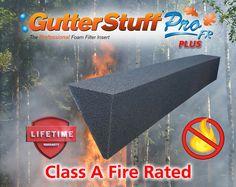 24 x 4 GUTTERSTUFF Pro Gutter Guard 96 feet 6-Inch K Style Foam Gutter Filter Insert with Year Round Leaf Protection /& Easy DIY Installation