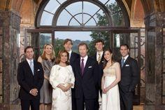 De groothertogelijke familie van Luxemburg - All Things Royal