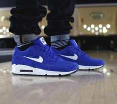Air Max 90 Royal Blue/ White