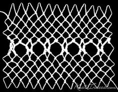 Knots Indeed: Netted Insertion from Tatting and Netting