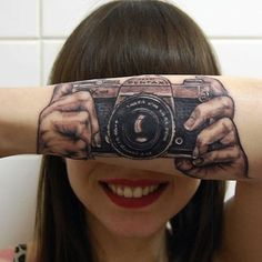 150 Most Realistic 3D Tattoos nice  Check more at http://fabulousdesign.net/3d-tattoos/