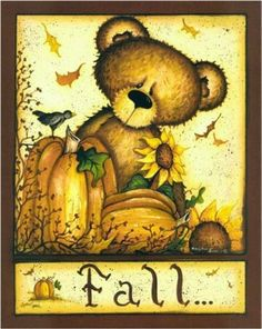 FALL TEDDY BEAR