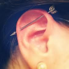 arrow scaffold piercing