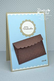 Stampin' Up! - gift card holder