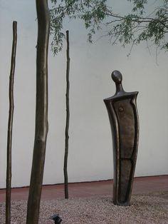 Nora Naranjo Morse  Bronze sculpture at the Heard Museum