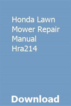 31 Best Honda Lawn Mower images in 2019 | Outdoor life, Outdoor