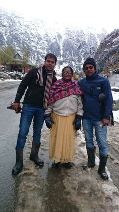 Snowfall in sonmarg