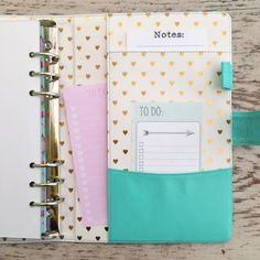 PREORDER Heart of Gold 2ND EDITION A5 Planner in Aquamarine