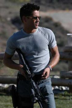 Colin Ferrell as Jim Street in S.W.A.T.  He is so damn sexy.