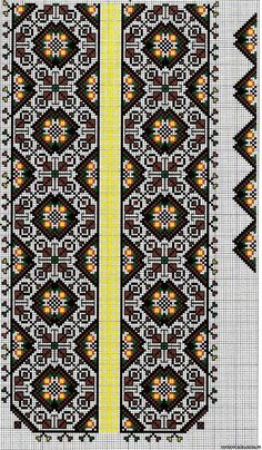 Cross stitching , Etamin and crafts: Traditional cross stitch Pattern Just Cross Stitch, Cross Stitch Borders, Cross Stitch Designs, Cross Stitching, Cross Stitch Embroidery, Cross Stitch Patterns, Embroidery Patterns Free, Loom Patterns, Craft Patterns