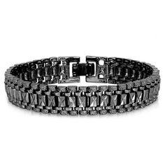 Rock Style Chain Bracelets  #senfashions #bracelet #bracelets #menfashion #menfashions #menstyle #menswear #mensfashion