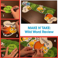 Buy a pack of craft brads and the DIY activity options are limitless! We used them to make this activity for reviewing prefixes. Easy to change and adjust for other prefixes, suffixes, parts of speech, etc.