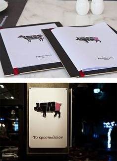 Kreopoleio Restaurant Identity by Beetroot Design Group | Inspiration Grid | Design Inspiration