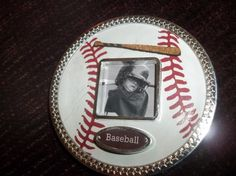 Magnetic Baseball Picture Frame