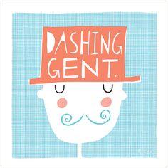 Dashing Gent - Fine Art Print