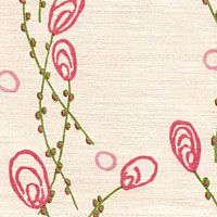 Item #: FM 1203   Color: PINK/GREEN Designer Wallpaper, Pink And Green, Arts And Crafts, Textiles, Fabric, Prints, Pattern, Handmade, Color