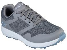 In the market for new golf shoes? Lori's Gold Shoppe carries a selection of cool stylish golf shoes for women. Check this one out --> Skechers Ladies GoGolf Max Golf Shoes - CUT (Gray/Blue)