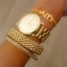 Armcandy  name bracelets now available in Silver & Gold Plated. £31/ €35/ $39 #gold #bracelet #habesha #eritrea #ethiopia #jewelry #tigrinya #amharic #geez #armcandy #accessories