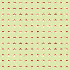 Free scrapbooking paper with mushrooms and hedgehogs – printable gift wrapping paper – Scrapbook Papier / ausdruckbares Geschenkpapier – Freebie | MeinLilaPark