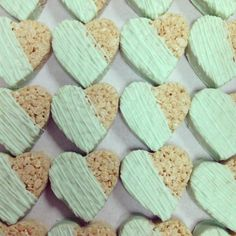 heart rice krispies by sweet & saucy shop