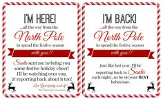 Free 'Elf on a Shelf' Printables - Super Busy Mum || Elf on the Shelf Ideas for Arrival: 10 Free Printables! || Letters from Santa Blog || A collection of 10 amazing free printable letters for a spectacular Elf on the Shelf arrival!