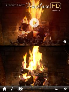 Soothe your holiday stress with the fireplace app. #Christmas http://www.ivillage.com/best-apps-holidays/7-b-501225#501431