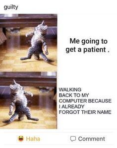 Dental Humor, Nurse Humor, Physical Therapy Humor, Nurse Problems, Night Nurse, Scrub Life, Work Humor, Haha, Shit Happens
