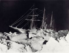 Shackleton's Antarctic Expedition, Ernest Shackleton, Frank Hurley, Antarctica, The Ralls Collection, The Endurance Midwinter, frozen ship