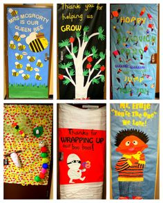 Teacher Staff Appreciation Decorate doors - love the nurse door  sc 1 st  Pinterest & Teacher Appreciation Door Decorating Ideasu2014Tips for PTO and PTA ...