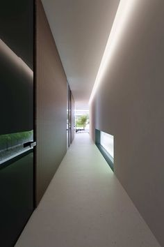 View full picture gallery of Piano House Corridor Lighting, Cove Lighting, Indirect Lighting, Interior Lighting, Lighting Design, Ceiling Lighting, Minimalist Architecture, Light Architecture, Minimalist Design