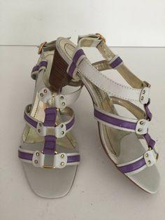 sandália vegetal grey - salto 5,5 cm - cor violeta - tamanho 40 - sandálias sem marca