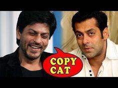 Is Salman Khan trying to copy Shahrukh Khan ?