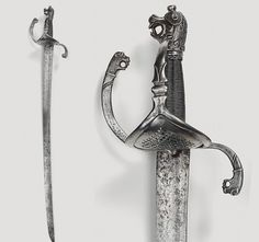Swiss saber, circa 1600.  The early date on this one blows me away.