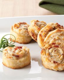 Bacon Ranch Phyllo Pinwheel I have done these with crescent rolls and they are amazing