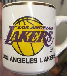 vintage los angeles la lakers coffee mug 1979 1980 #NBA champions pre kobe from $12.99