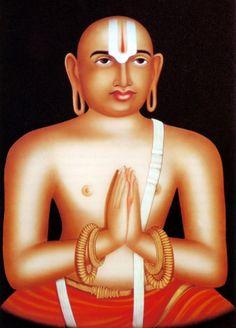 Indian painting - Sri Ramanuja
