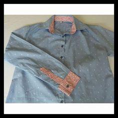 Camisa Feminina em Tricoline
