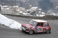 Bill Richards & John Morrow - 2012 Monte Carlo Rallye Historique
