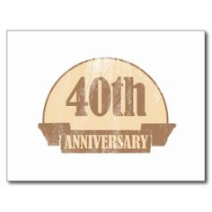 >>>Cheap Price Guarantee          	40th Anniversary Gift (Distressed) Postcards           	40th Anniversary Gift (Distressed) Postcards We provide you all shopping site and all informations in our go to store link. You will see low prices onShopping          	40th Anniversary Gift (Distressed)...Cleck Hot Deals >>> http://www.zazzle.com/40th_anniversary_gift_distressed_postcards-239309330415029987?rf=238627982471231924&zbar=1&tc=terrest