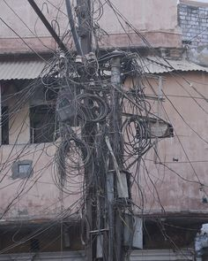 Wiring Chaos, that also is india ;)